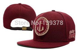Wholesale Pink Dolphin Snap Backs - Wholesale-New Brand Adjustable Hip Hop PINK DOLPHIN Snapback Caps Snap back Hats Baseball Caps For Men and Woman