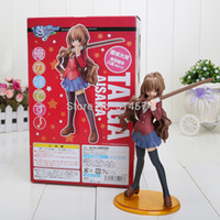 Wholesale Toradora Figures - Wholesale-18cm Free Shipping Toradora Aisaka Taiga scale PVC Action Figure Model Toy