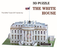 Großhandels-kreative DIY 3D Puzzle Modell - Weißes Haus