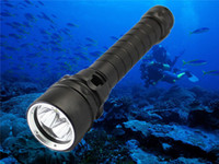 Wholesale Xml U2 Flashlight Underwater - Wholesale-2015 New 4000lm 100m Underwater Diving Flashlight Torch 3xCREE XML U2 LED Waterproof Light Lamp Free shipping