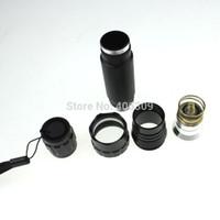 Wholesale Cree Flashlight Reflector - Wholesale-501b WF-501B Cree XM-L U3 1400LM 5-Mode with Op Reflector LED Flashlight (1*18650)+ free shipping
