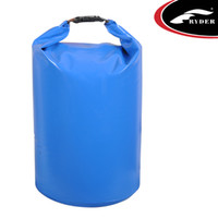Wholesale Tarpaulin Bags - Wholesale-(Free Shipping)RDWB-032 10L Pvc Tarpaulin Ocean Bag