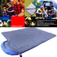 Wholesale Down Hill - Wholesale-170 soft Hollow Fibre 170 T WaterProof polyester cloth Backpackers Outdoor Sleeping Bag Hammock Campers Hiking Hill Walking