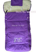 Wholesale Baby Sleeping Bag Down - Wholesale-Baby Kids Stroller Sleeping Bag Baby Sleep Sacks for Stroller Cart Basket Infant child Fleabag for Winter kids envelope in car