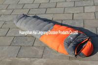 Wholesale Duck Mountain - Wholesale-high quality mountain eiderdown mummy sleeping bag(-30degree),duck down sleeping bag,camping bag for outdoor,free shipping