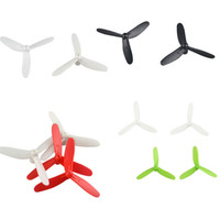 Wholesale Quadcopter Propellers - Wholesale-Free shipping Hot Sale Cheerson Upgraded 3-Leaf Propellers for CX-10 CX-10A RC Quadcopter Jecksion