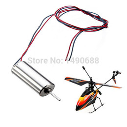 Wholesale rc spare parts - Wholesale-Free SHipping 5Pcs lot Tail Motor For Wltoys V911 RC Helicopter Spare Parts V911-20 4CH Channel 2.4Ghz