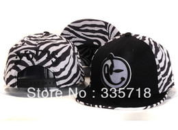 Wholesale Snapback Hat Yums - Wholesale-YUMS zebra Snapback hats men & women's designer baseball caps hiphop cap Free Shipping