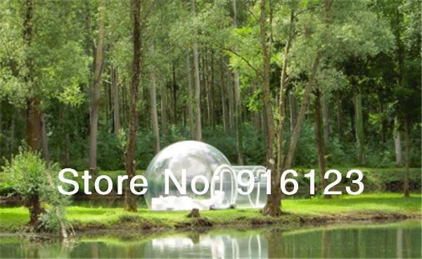 top popular Wholesale-inflatable bubble camping tent,inflatable clear tent,inflatable bubble tent 2021