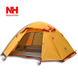 Wholesale Heavy Tents - Wholesale-Camping Tent 1-2 Person Family Double Layer Tent Heavy Rainproof Automatic Tent