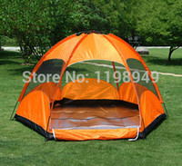 Wholesale Topwind Plus - Wholesale-2015 New Good Double Layer 8 Person 4 Season Aluminum Rod Big Outdoor Camping Tent Topwind 2 PLUS Free Shipping 3.5KG140 nf