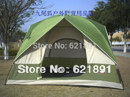 Wholesale Elevation Meter - Wholesale-Super-elevation 1.8 meters outdoor window camping 5 - 6 anti-uv double layer camping tent