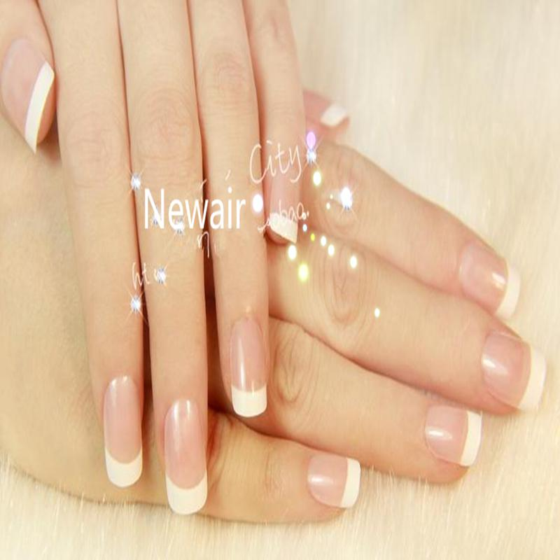 Wholesale French False Nails Elegant Ol Natural Abs Full Cover False ...