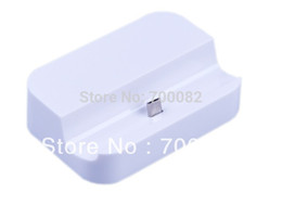 Wholesale Dock Station S2 - Wholesale-Charger Dock For SAMSUNG Galaxy S2 S3 S4 i9100 i9108 i9300 i9500 N7100 Charger Station Black Or White