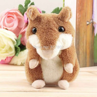 Wholesale Hot Selling Lovely Talking Hamster Plush Toy Hot Cute Speak Talking Sound Record Hamster DropShipping