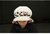 Wholesale Trafalgar Law Plush - Wholesale-Anime One piece cosplay Trafalgar Law plush hat 2 yeat later warm and cute cosplay hat free shipping