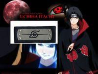 Wholesale Naruto Black Leaf Headband - Wholesale-Naruto Uchiha itachi Costume Anti Leaf Village LOGO Cosplay Headband Head Band Metal Black