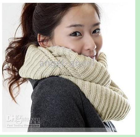 High Quality Winter Scarf Fashion Knit Wear Neck Wool ...