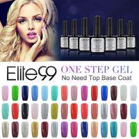 Wholesale Gel Nails For Sale - Wholesale- Hot Sale Nail UV Gel One Step 10ml 60 Fashion Color for Choose Long-lasting LED Gel Polish Top Fashion Limited Sale