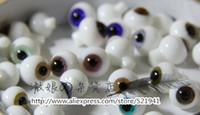 Wholesale Bjd Eyes 14mm - Wholesale-Free Shipping,1pair bjd accessories Bjd glass eyes 8mm 10mm 12mm 14mm 16mm
