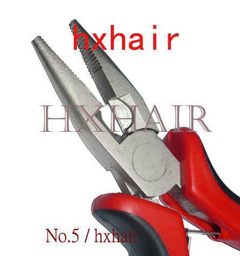 № 20 Плоскогубцы №2 и инструменты для наращивания волос / Прямая головка с плоскогубцами