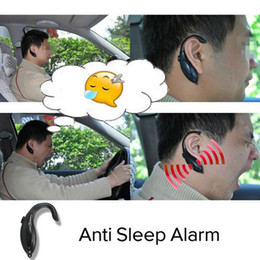 Wholesale Anti Sleep Driving - Wholesale-Sound Alert Anti Sleep Alarm High Quality Anti Sleep Driving( For Drivers, Security Guards) 50pcs lot EMS free shipping