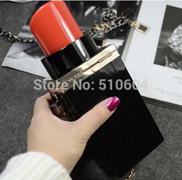 All'ingrosso-2015 Fashion Luxury Women Borsa a tracolla a catena Messenger Bag Mini Rossetto bottiglia di profumo Borsa frizione borsa da sera # BA355 da