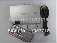 Wholesale Dvbt Receiver - Wholesale-Digital High Definition Mini USB VGA LCD CRT DVBT Set Top Box Satellite TV Tuner Receiver. Audio and Video Decoder