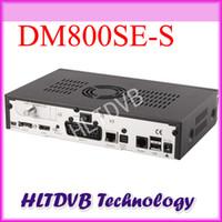 Wholesale Dm Se - Wholesale-2pc lot dm800 hd se Satellite Receiver BCM4505 Tuner Sim 2.10 dm 800se DM 800 hd se 400MHZ Processor DHL free shipping