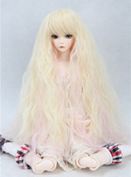 Wholesale Care Sd - Wholesale-2015 new product 1 6 Sweet heat resistant wire bjd sd girls doll wig BJD doll Wig sets take care of easy wig Free Shipping