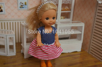 Wholesale Evi Dolls - Wholesale-NEW HOT Original Kelly Dolls EVI Cute Baby Dolls Kids Excellent Gifts Mixed Styles Factory Wholesale Free Shipping a1102