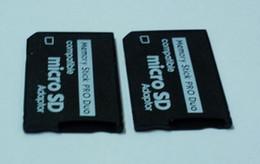 Wholesale Micro Sd Pro - Wholesale-Free Shipping 50pcs lot Micro SD SDHC TF to Memory Stick MS Pro Duo PSP Adapter