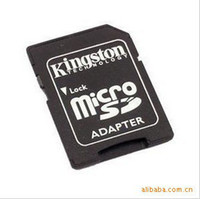 Wholesale Sd Free Shipping Piece - Wholesale-200 Pieces Free Shipping Micro SD Adapter to SD Card Adapter TF Adapter