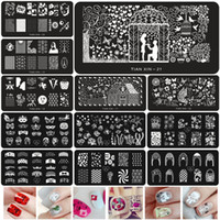 Wholesale Steel Art Stamp - Wholesale-1 x Multi-Designs Steel Plate Nail Art Image Stamp Stamping Plates Manicure Template