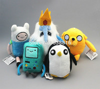 Wholesale Adventure Time Pvc - Wholesale-1pc Lovely Anime Adventure Time Finn Jake Soft Stuffed Plush Toys Cartoon Action Figures Baby Dolls Children Christmas Gift