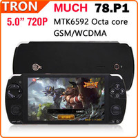 Wholesale Ram Button - Wholesale-MUCH 78P01 Octa Core 5.0 Inch Gamepad 2G RAM 16G ROM Game Player with Joystick HDMI Button-Mapping Android 4.2