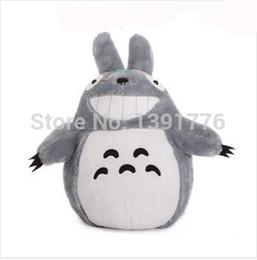 Japan Anime Totoro Kunai Plush Toy Soft Stuffed Animal Doll Pillow Cushion Cartoon Totoro Black Cat Movies & Tv Dolls & Stuffed Toys