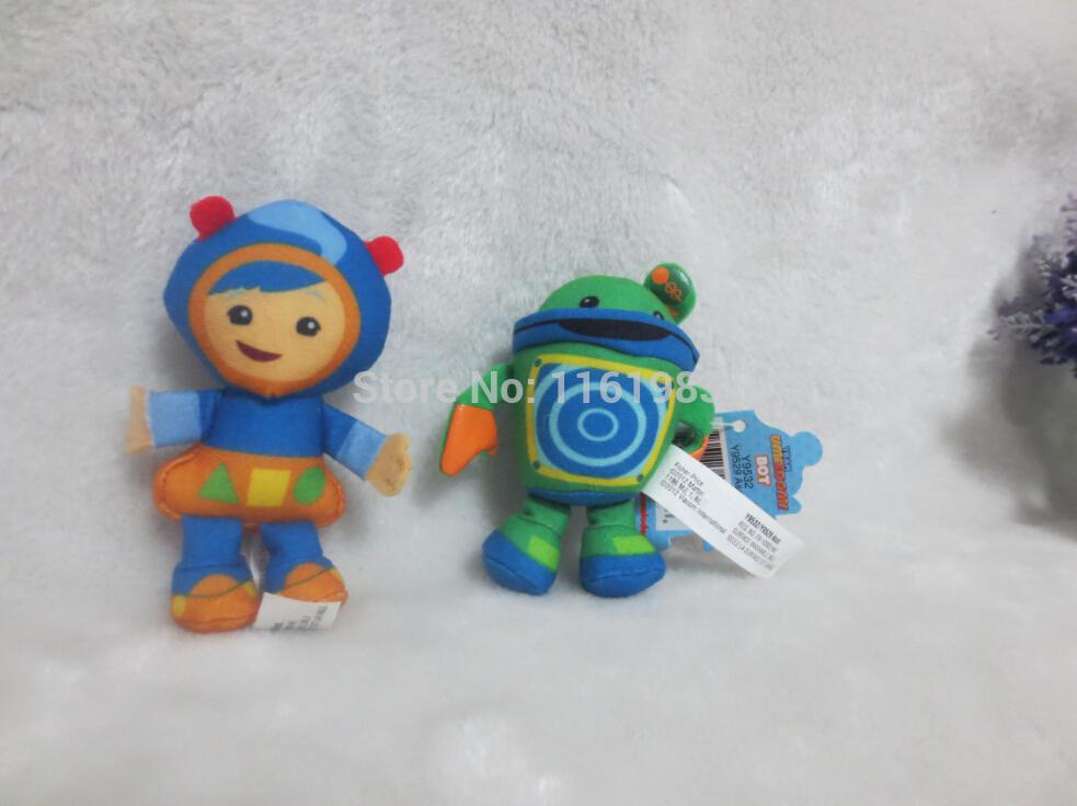 Wholesale 2pcs Lot Team Umizoomi Plush Toys 10cm Geo Plush
