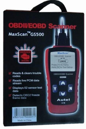 Wholesale Actron Reader - GS 500 Code Reader GS500 New CAN OBD II OBD2 Code Scanner OBD2 Car Diagnostic Tool