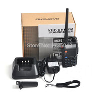 Großhandels-2pcs Baofeng UV-5R Pofung UV-5R UV5R Two Way Ham CB Tragbares Radio VHF UHF-Dualband-Sender Handy-Walkie Talkie-Weg-Sets