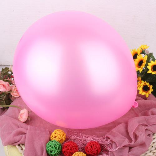 Pembe Renk Lateks Balon (100 Adet) + Çubuk Bardak + Şişirme Pompası Parti Dekorasyonu