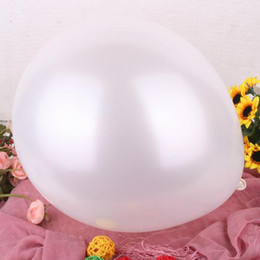 sexy balloon girls Canada - White Color Latex Round Balloon 200 Pcs + 200 Pcs Stick & Cup + 1 Inflator Pump Party Decoration