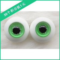 Wholesale Bjd Glasses - Wholesale-Bjd doll bjd glass eyes 14mm 16mm ehab508