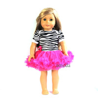 zebra hot pink tutu dress al por mayor-Al por mayor-18