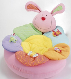 Wholesale Elc Farm - Wholesale-ELC Blossom Farm Sit Me Up Cosy-Baby Seat,Baby Play Mat Small Baby game pad ,ELC pink rabbit