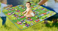 Wholesale Kids Number Toys - Wholesale-Environmentally Foam Zoo Numbers Play Mat Puzzle Floor Mats Baby Carpet Pad Toys For Kids Rug Toy 270369