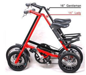 New Arrive Strida 16 Inch Aluminum Alloy Folding Bike