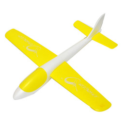 Wholesale Mini Hand Launch - Wholesale-GP Toys EPP Educational Mini Hand Launch Throwing Wings Outdoor Airplane Aircraft Flight EPO Foam Toys Red Yellow