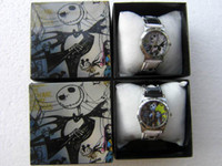 Wholesale Nightmare Before Christmas Cartoon - Wholesale 10 pcs lots cartoon nightmare before christmas watches with boxes