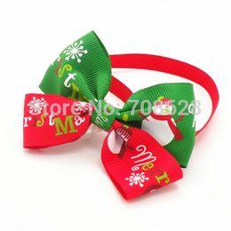 $enCountryForm.capitalKeyWord Canada - Wholesale-50PC Lot New Christmas Holiday Dog Bow Ties Collar Cute Snowman Pet Puppy Adjustable Neckties Grooming Ties Accessories